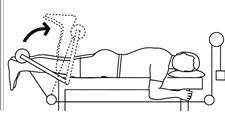 encogimientos femorales ejercicio curl femoral